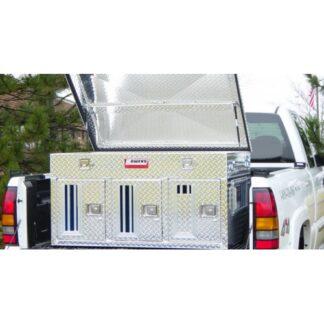 55055 Triple Dog Box Single Lid Top Storage