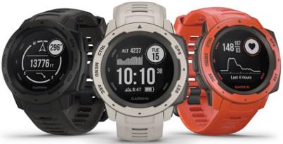 Instinct Watch by Garmin in 3 colors